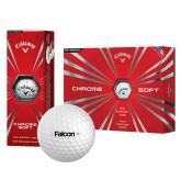 Callaway Chrome Soft Golf Balls 12/pkg-Falcon
