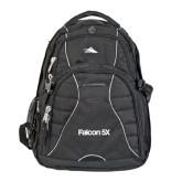 High Sierra Swerve Compu Backpack-Falcon 5X