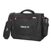 High Sierra Black Upload Business Compu Case-Falcon 7X