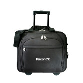 Embassy Plus Rolling Black Compu Brief-Falcon 7X