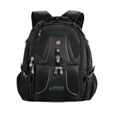 Wenger Swiss Army Mega Black Compu Backpack-Dassault Falcon