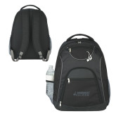 The Ultimate Black Computer Backpack-Dassault Falcon