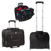 Ogio Lucin Wheeled Black Compu Brief-Dassault Aviation