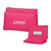 Tropical Pink Vanity Bag w/Mirror-Dassault Falcon