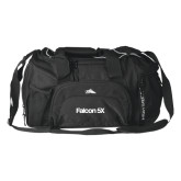High Sierra Black Switch Blade Duffel-Falcon 5X
