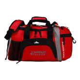 High Sierra Red/Black Switch Blade Duffel-Dassault Falcon