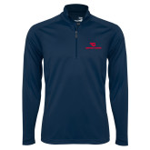 Syntrel Navy Interlock 1/4 Zip-Dayton Flyers