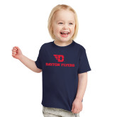 Toddler Navy T Shirt-Dayton Flyers