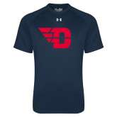 Under Armour Navy Tech Tee-Flying D