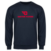 Navy Fleece Crew-Dayton Flyers