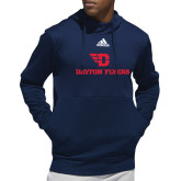 Adidas Navy Team Issue Hoodie-Dayton Flyers