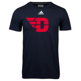 Adidas Climalite Navy Ultimate Performance Tee-Flying D