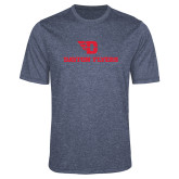 Performance Navy Heather Contender Tee-Dayton Flyers