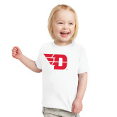 Toddler White T Shirt-Flying D