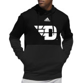 Adidas Black Team Issue Hoodie-Flying D