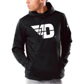 Under Armour Black Armour Fleece Hoodie-Flying D