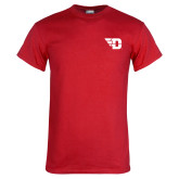 Red T Shirt-Flying D