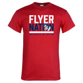 Red T Shirt-Flyer Nation