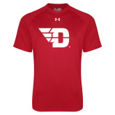 Under Armour Red Tech Tee-Flying D