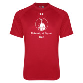 Under Armour Red Tech Tee-Dad
