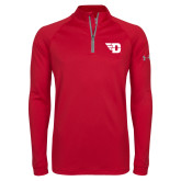 Under Armour Red Tech 1/4 Zip Performance Shirt-Flying D