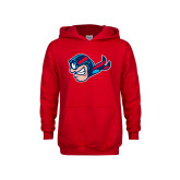 Youth Red Fleece Hoodie-Mascot Profile