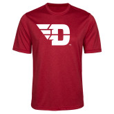 Performance Red Heather Contender Tee-Flying D