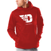 Under Armour Red Armour Fleece Hoodie-Football