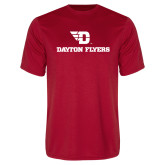 Performance Red Tee-Dayton Flyers