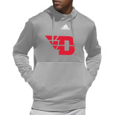Adidas Grey Team Issue Hoodie-Flying D