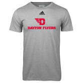 Adidas Climalite Sport Grey Ultimate Performance Tee-Dayton Flyers