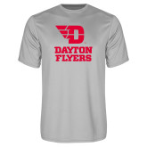 Performance Platinum Tee-Dayton Flyers Stacked