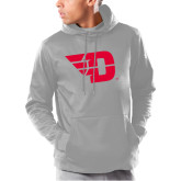 Under Armour Grey Armour Fleece Hoodie-Flying D