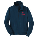 Navy Charger Jacket-Dayton Flyers Stacked