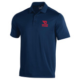 Under Armour Navy Performance Polo-Dayton Flyers Stacked