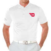 Callaway Opti Vent White Polo-Flying D