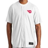 New Era White Diamond Era Jersey-Flying D