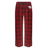 Red/Black Flannel Pajama Pant-Flying D