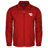Full Zip Red Wind Jacket-Flying D