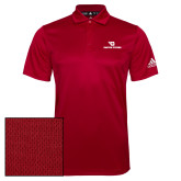Adidas Climalite Red Grind Polo-Dayton Flyers