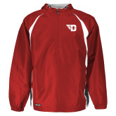 Holloway Hurricane Red/White Pullover-Flying D