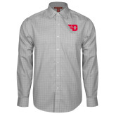 Red House Grey Plaid Long Sleeve Shirt-Flying D