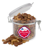 Deluxe Nut Medley Round Canister-Primary University Logo