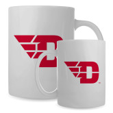 Full Color White Mug 15oz-Flying D