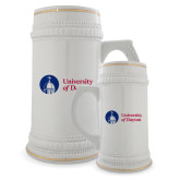 Full Color Decorative Ceramic Mug 22oz-Primary University Logo