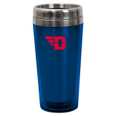 Solano Acrylic Blue Tumbler 16oz-Flying D