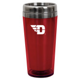 Solano Acrylic Red Tumbler 16oz-Flying D