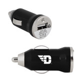 On the Go Black Car Charger-Flying D