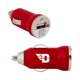 On the Go Red Car Charger-Flying D