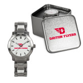 Mens Stainless Steel Fashion Watch-Dayton Flyers